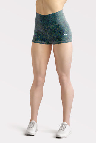 Mermaid High Waisted Shorts
