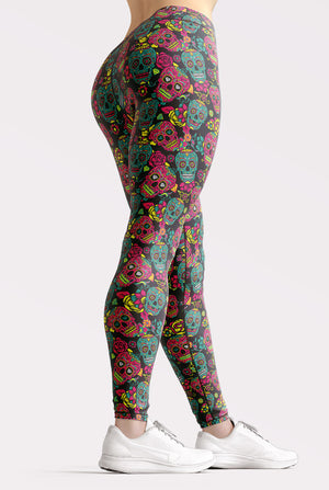 Sugar Skulls Leggings