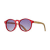 Blue Planet Annica Sunglasses in Red