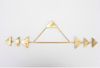 api brass wall hanging by bright star and buffalo