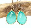 Peru Chalcedony Earrings in Portland