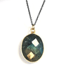 Green Gemstone Necklace