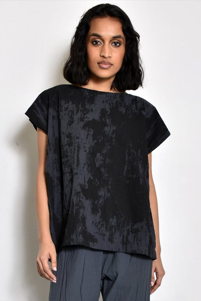 Bark Tunic Top UZI NYC