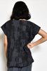 Charcoal Bark Tunic Top Uzi NYC