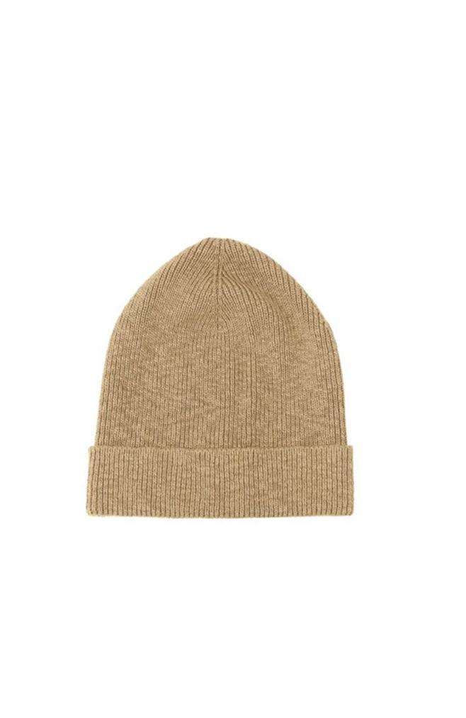 cotton camel beanie it is well la