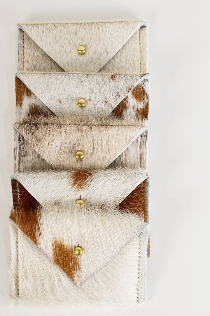 Card Wallet | Natural Cowhide