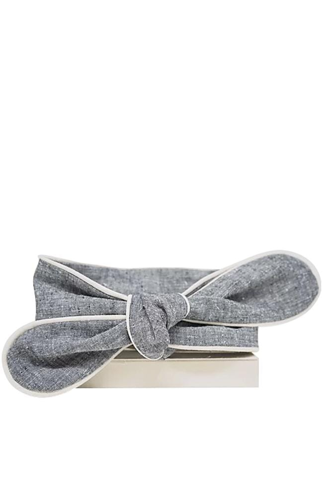 chambray head wrap