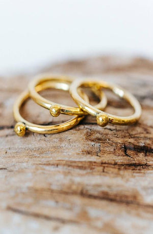 brass stack ring