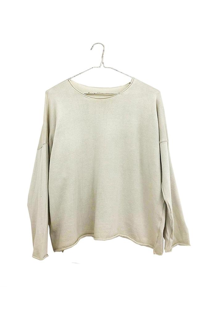 Boxy Sweater | Natural