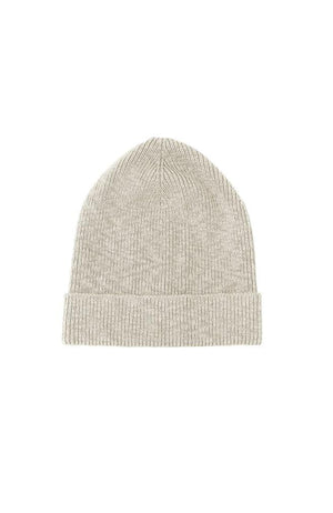 cotton ribbed beanie it is well la