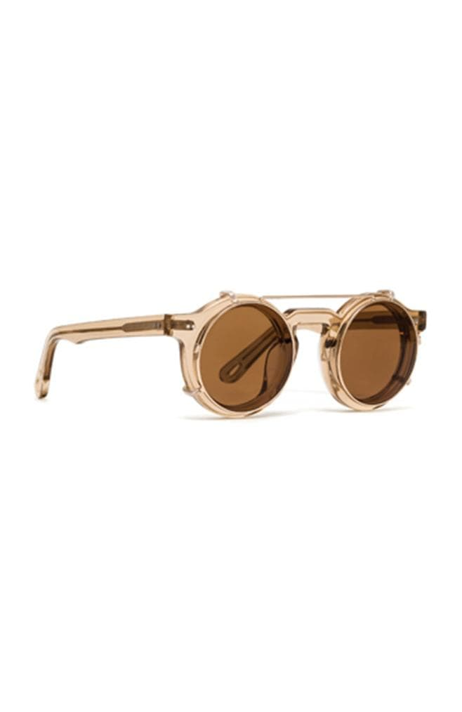 fashion designer sunglasses in nude