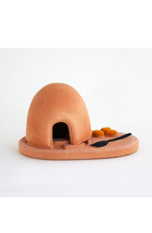 Oven incense burner