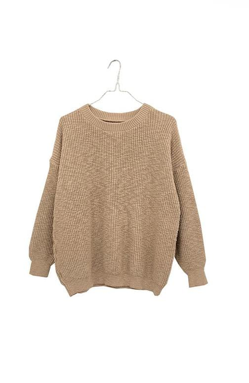 Pull-On Sweater | Camel