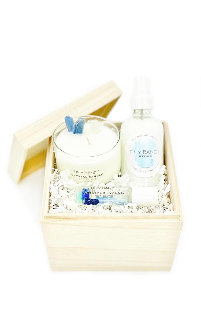 sea elixir perfume candle set