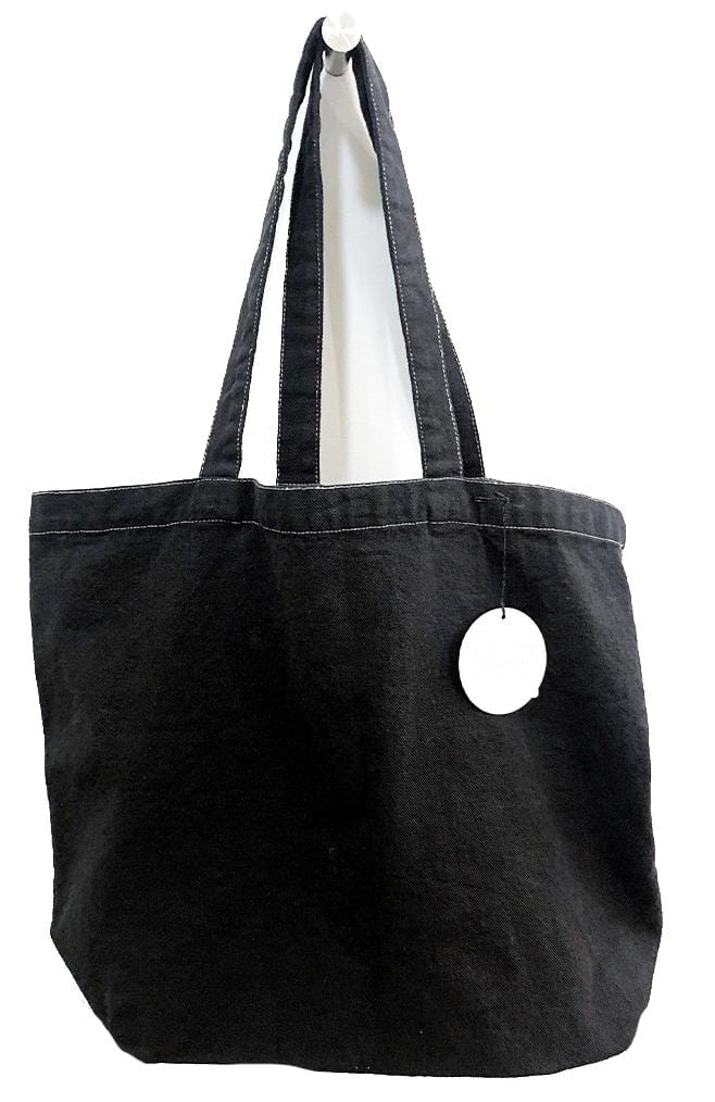 scarf shop tote in smoke