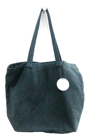 scarf shop tote in storm