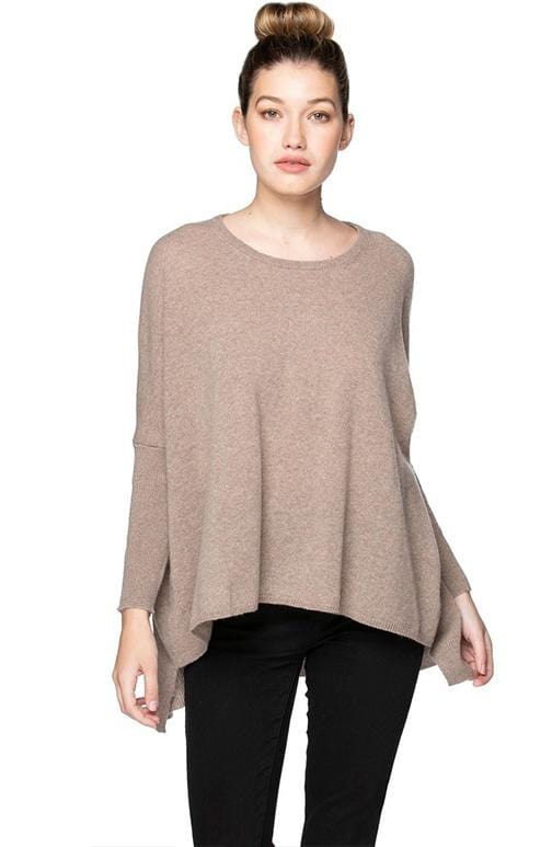 Mink Cashmere Loose & Easy  Sweater