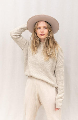 Pull-On Sweater | Natural