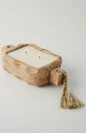 himalayan trading driftwood candle