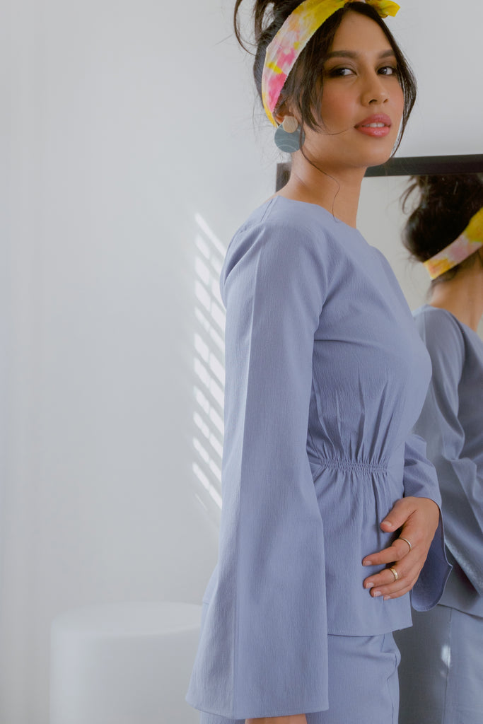 ORA KURUNG IN BLUE-GREY