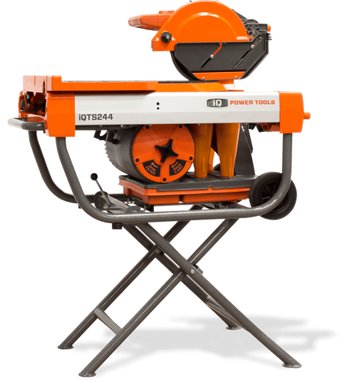 "iQTS244 10"" Dry Cut Tile Saw + Stand"