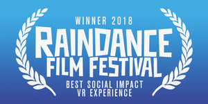 WE WON!!! Raindance Film Festival - BEST SOCIAL IMPACT EXPERIENCE !!!!