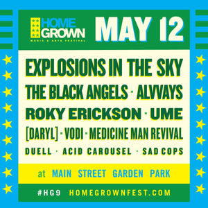 2018 HOMEGROWN FESTIVAL Marks the Return of [DARYL] on May 12th!!!