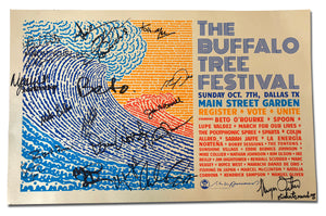 THE BUFFALO TREE FESTIVAL - BETO SIGNED SHOW PRINT