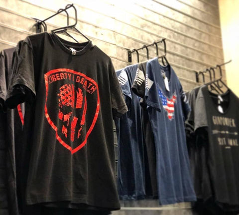 Liberty or Death Project RED Tee at C2 Tactical