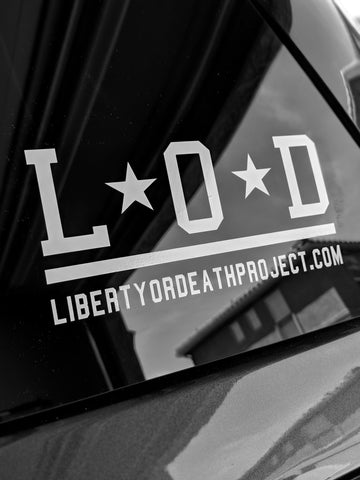 LOD Sticker - Liberty or Death Project