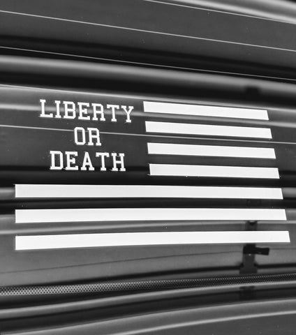 Flag Sticker - Liberty or Death Project