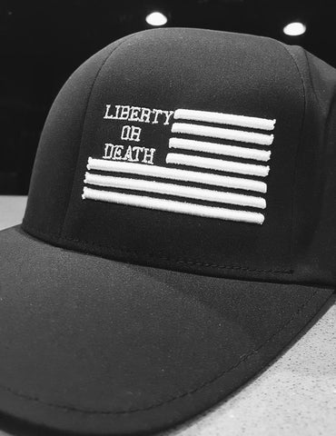 Liberty or Death Project Classic Hat black