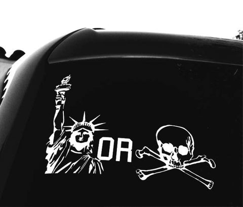 Lady Bones Sticker - Liberty or Death Project