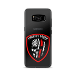 Skullmerica Red Line Samsung Case - Liberty or Death Project