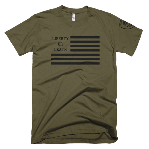 Liberty or Death Project Classic Tee V3 Black Ops