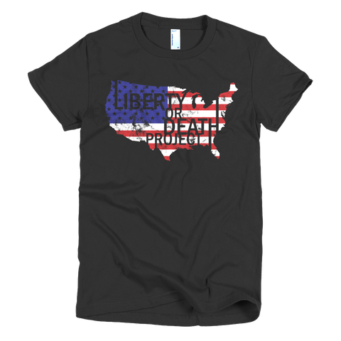 LOD USA Ladies Tee - Liberty or Death Project