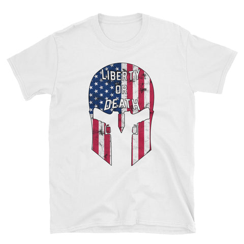 LOD Spartan Tee - Unisex Basic - Liberty or Death Project