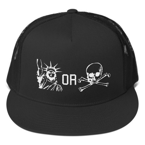 Lady Bones Snapback V2 - Premium - Liberty or Death Project
