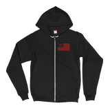 Liberty or Death Project Skullmerica Red Line Hoodie front