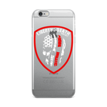 Skullmerica Red Line iPhone Case - Liberty or Death Project
