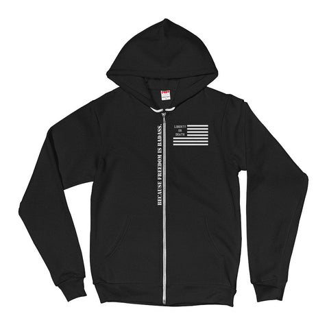 Because Freedom Hoodie - 3 Colors Available - Liberty or Death Project