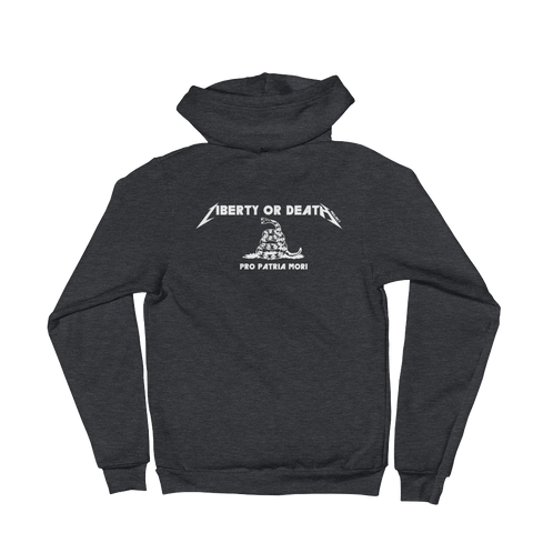 Pro Patria Mori Hoodie - 5 Colors Available - Liberty or Death Project