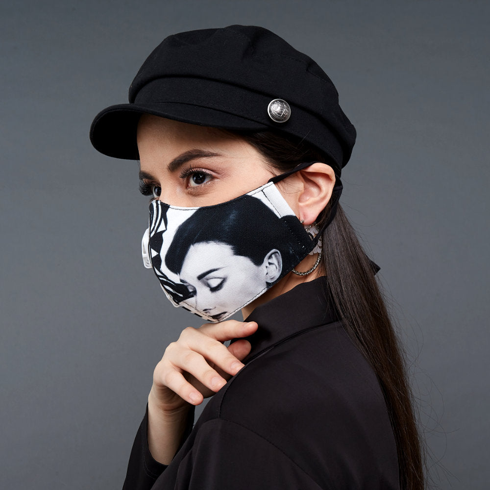 Premium Audrey Facemask With Air Valve