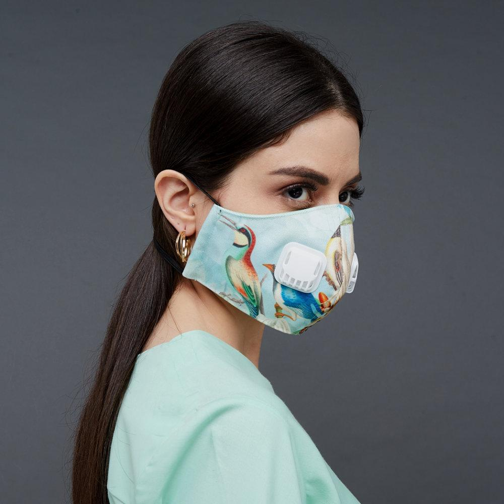 Premium Miami Tosqa Facemask With Air Valve