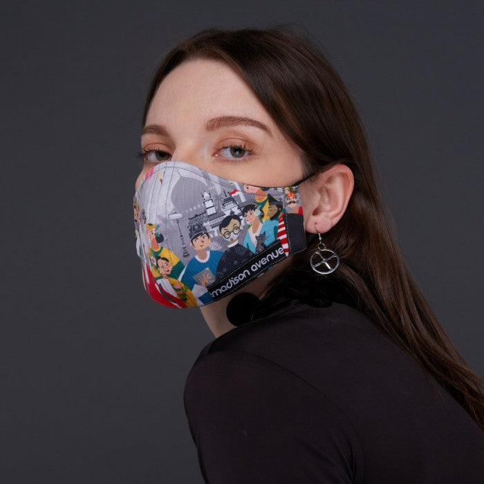 Diversity#3 Facemask With Air Valve