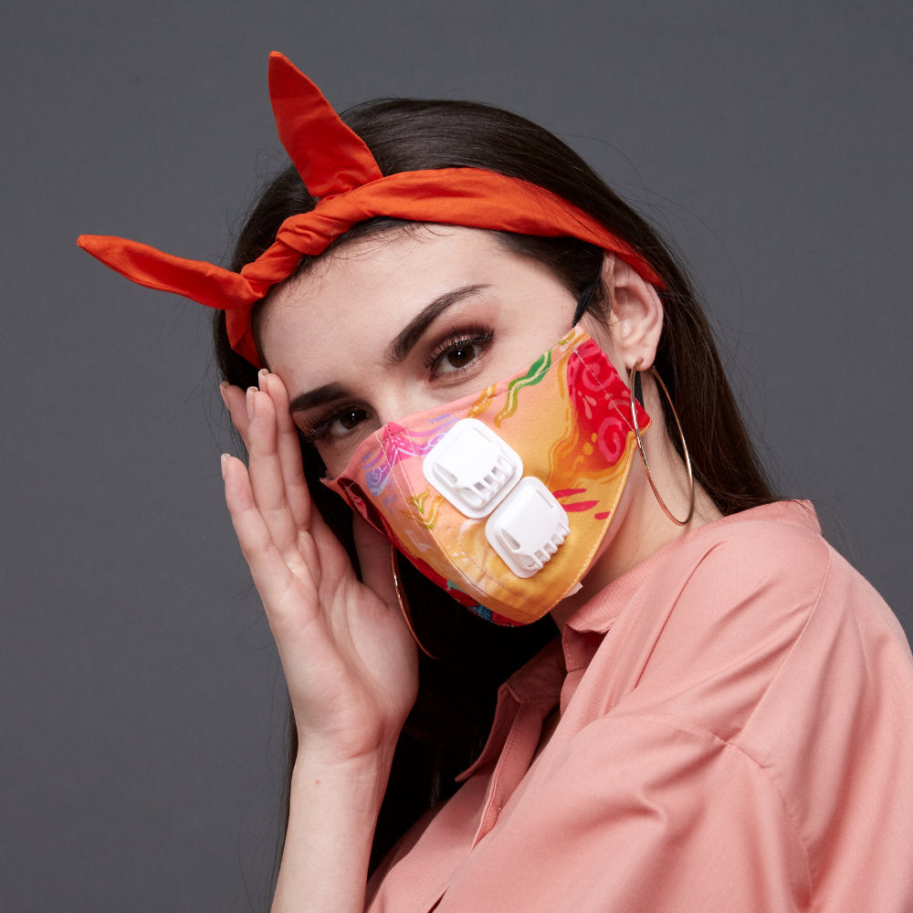 Love you, Mum Facemask With Air Valve #6 (4838708019223)