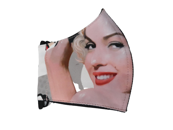 Marilyn Pow Facemask With Air Valve-2MADISONAVENUE.COM