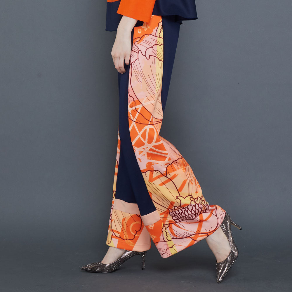 Orbital Orange Cullotes Pants-2Madison Avenue Indonesia