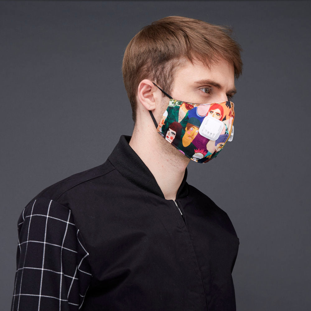 Diversity Facemask With Air Valve-2MADISONAVENUE.COM (4423346061335)
