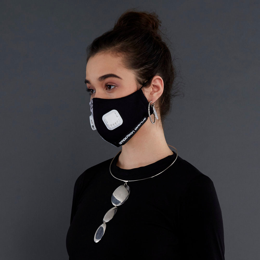 Geo-Pow Facemask With Air Valve